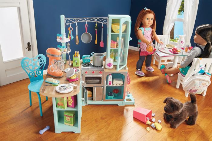 New Truly Me Kitchen Set + New Doll Leaked!
