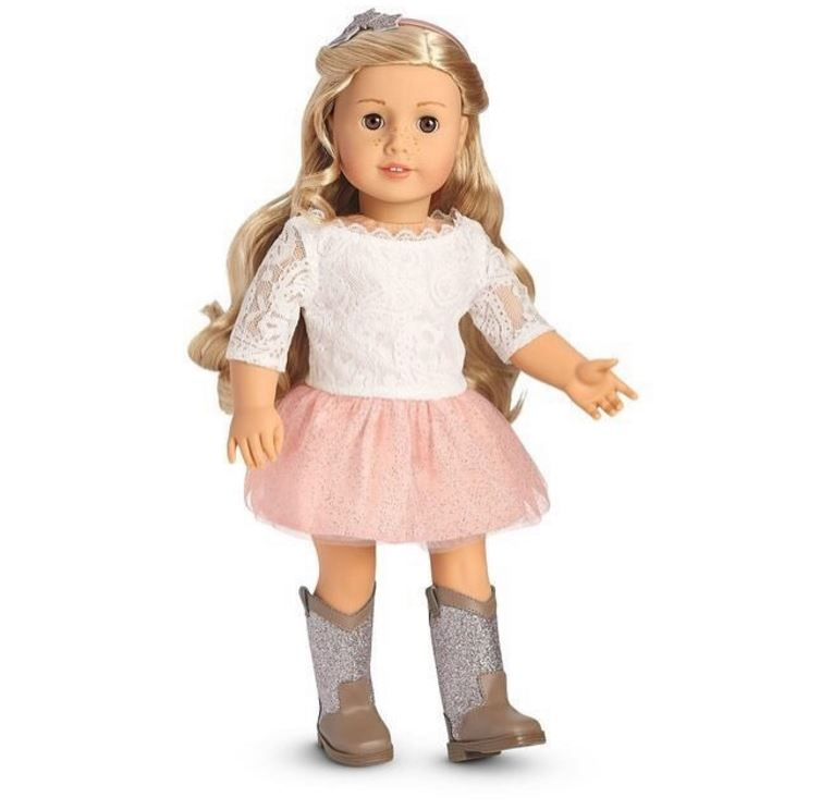 American Girl Doll Marisol Luna Retired Meet Outfit Panty Underwear ONLY