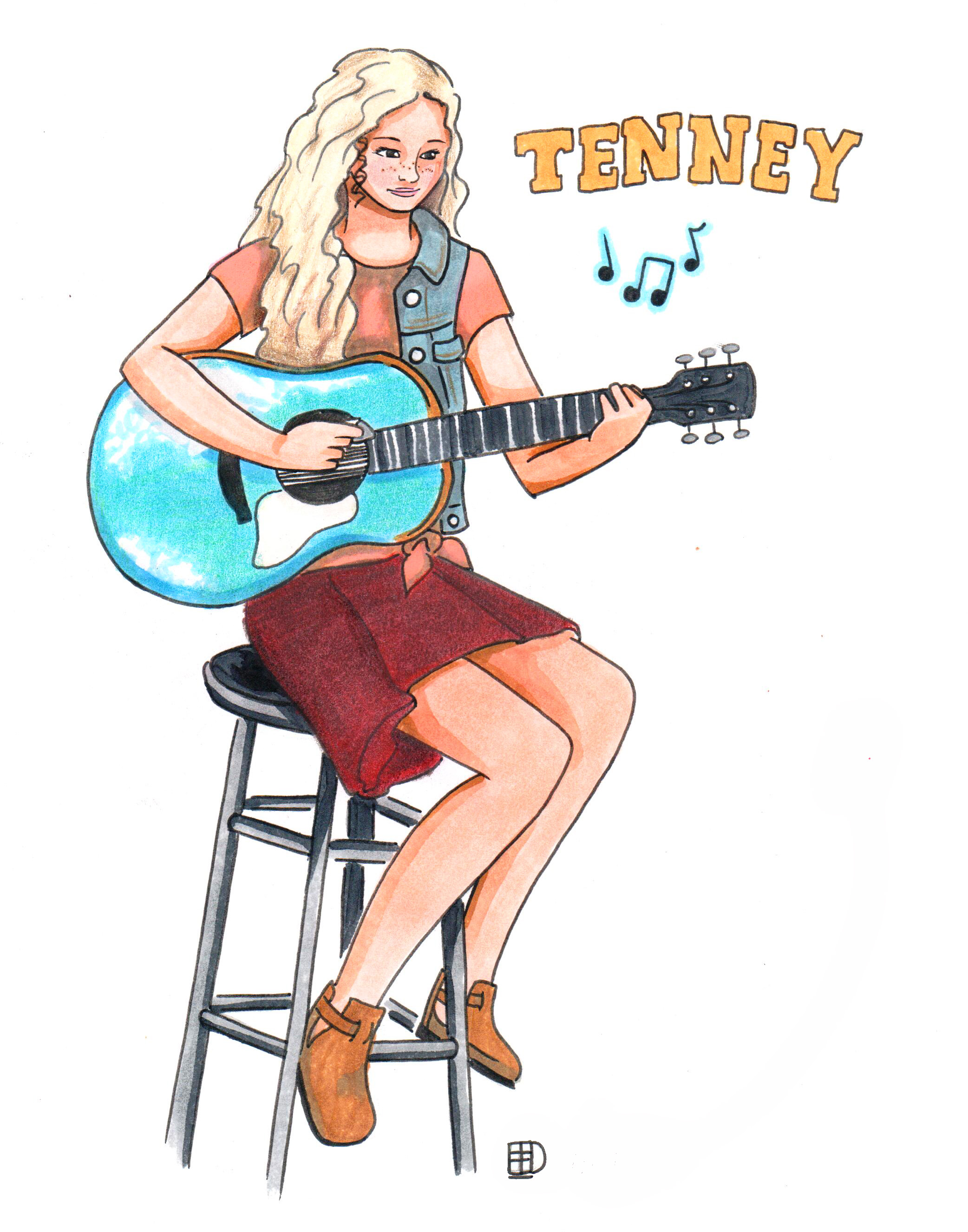 Tenneycolored