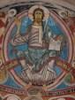 Romanesque fresco, Vall de Boí, Spain