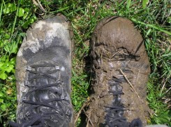Hiking is a dirty business, in the Alps just as elsewhere