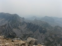 Rugged mountains