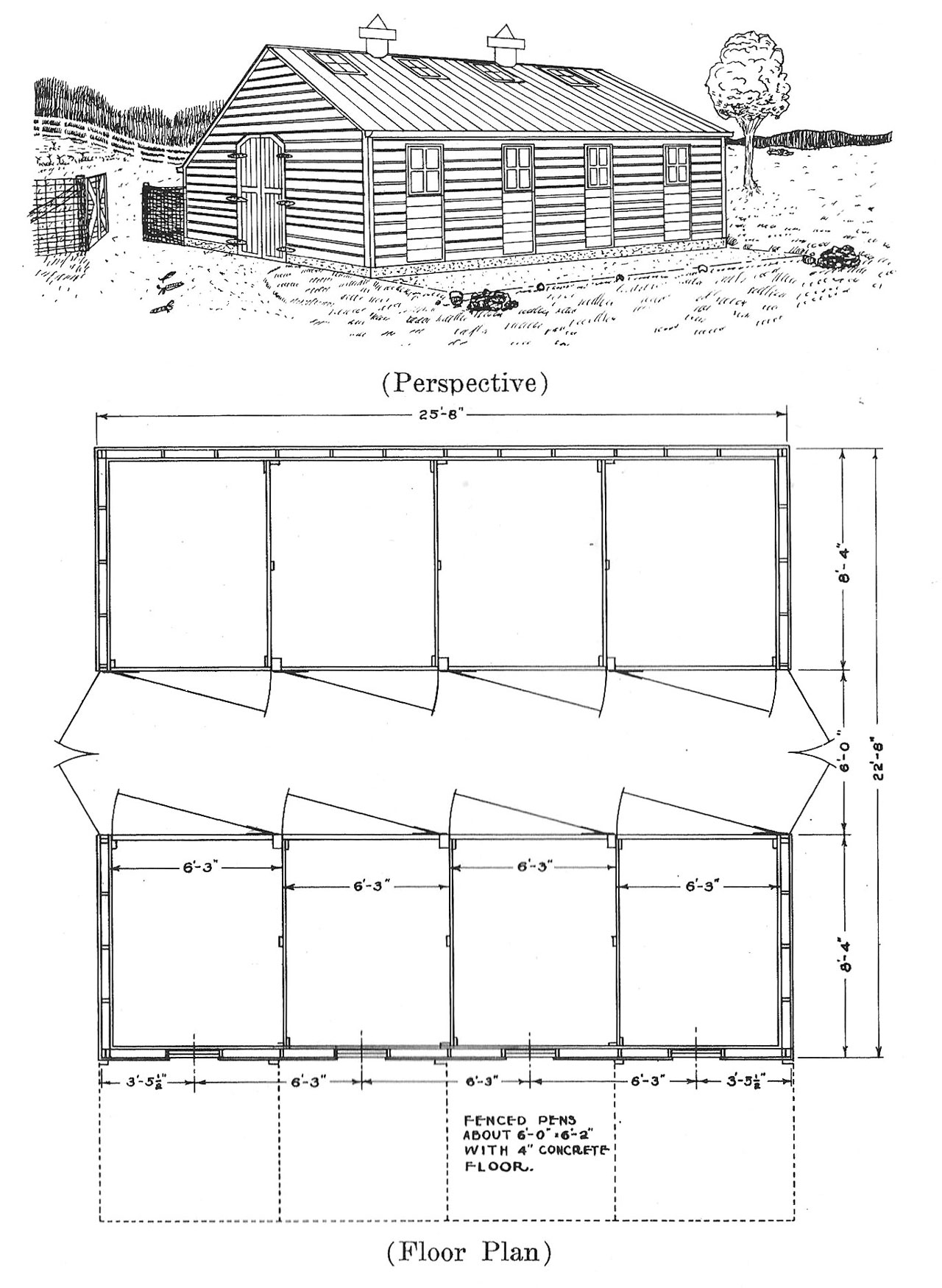 Plans For Hog Houses Small Farmer S Journal