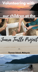 Is volunteering with children difficult? What was involved? And did we make a difference? This is our story helping sea turtles in Malaysia.