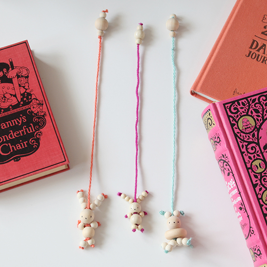 DIY Bead Bunny Bookmarks – Easter Rabbit Crafts for Kids – Bunny ...
