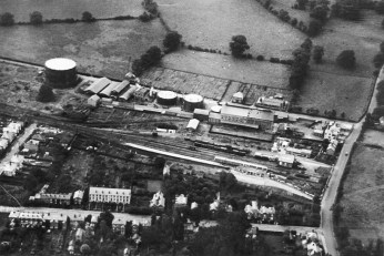 Abbey Stn 22 from the air 1926