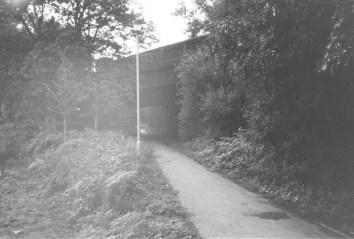 Barnet Bypass Overbridge 1988