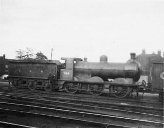 Branch Locos 5 J3 No 1169 Hatfield 1923