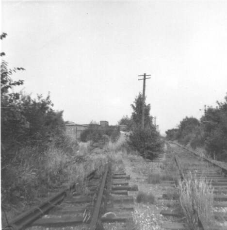Butterwick Siding 2 looking East 1963