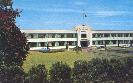 De Haviland Factory 1960 Postcard ©