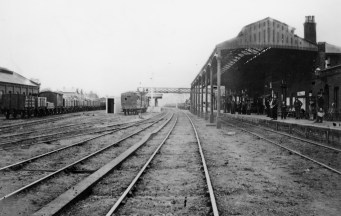 Hatfield 1870 looking North ©
