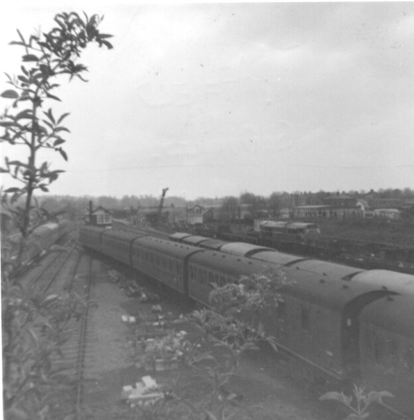 Hatfield East Sidings 1968