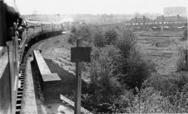 Herts Railtour crossing R Ver 1955