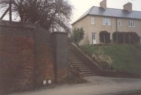 Lemsford Rd Halt Entrance 1988