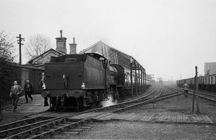 London Railtour March 1961 1 Abbey Stn No 40657