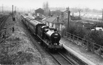 London Railtour March 1961 4 No 44575 at Smallford