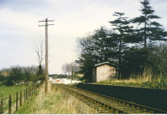 Nast Hyde Halt looking East 1968 - 16