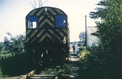Nast Hyde Halt train to Smallford 1968 - 11