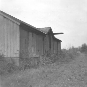 Salvation Army Siding 3 loading dock 1968