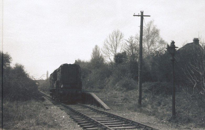 Sanders Halt 1965 line closed 1964