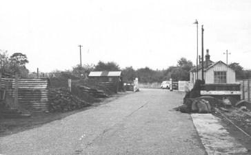 Smallford - 21 Goods Yard Oct 1967