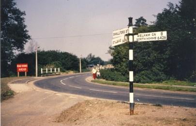 Smallford - 34 From Orbital Road Colney Heath1968
