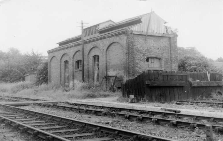 St Albans London Rd 20 Loco Shed 1961