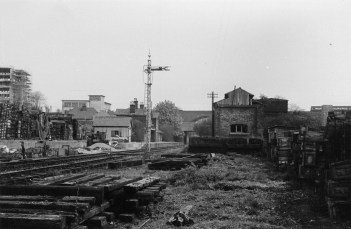 St Albans London Rd 9 awaiting track lift 1965
