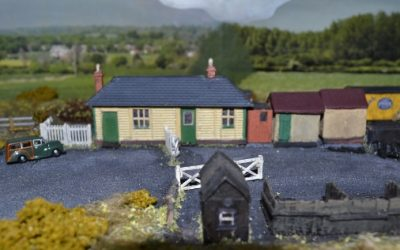 Smallford Station Model in Welwyn Garden City