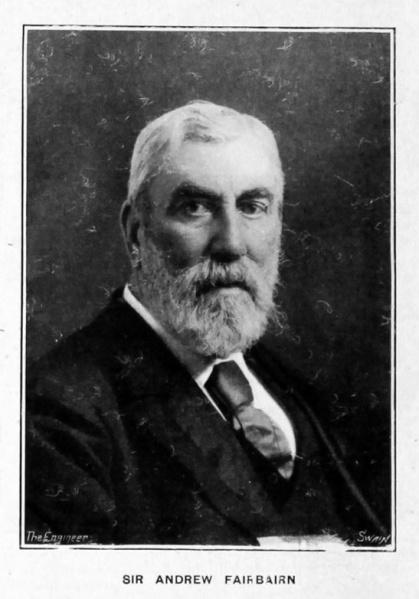 Sir Andrew Fairbairn in 1894