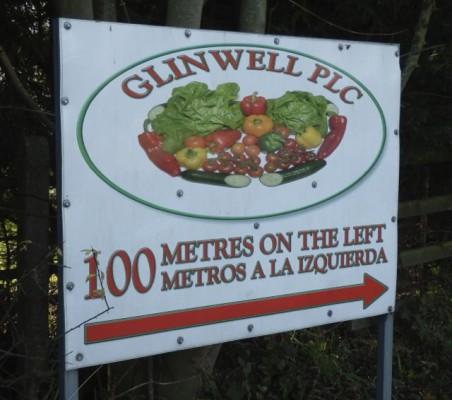 Glinwell signage