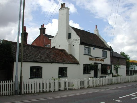 The Three Horseshoe pub