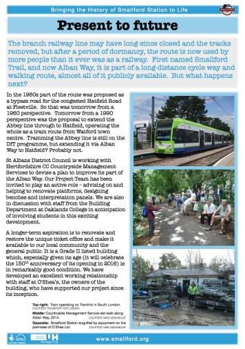 Bringing the History of Smallford Station to Life_09