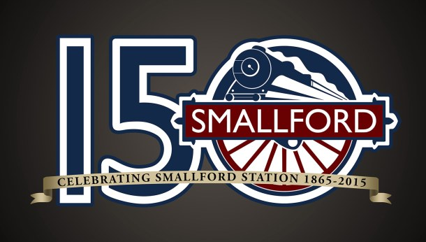 Smallford Railway Logo Celebrating 150 Years