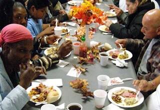 Homeless Thanksgiving