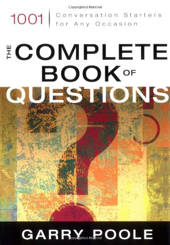 Complete Book of Questions, Garry Poole
