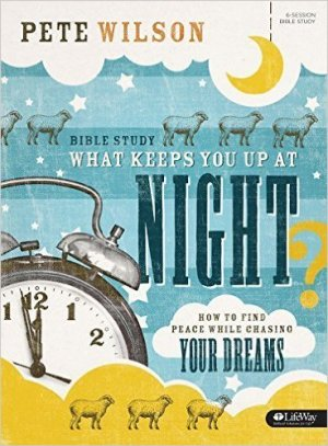 What Keeps You Up at Night? Bible Study Book includes a small-group experience for six sessions and individual study and learning activities between group sessions. It also contains relevant Scripture, open-ended discussion questions, provocative insights, and guided prayer. Uncertainty is paralyzing. And today's world, with all its expectations, responsibilities, and shortcomings, has created an environment ripe for the kind of uncertainty that has shackled an entire generation. Technology, for better or worse, has ushered in an unprecedented age of skepticism and information access. We want our questions answered, our decisions affirmed, and our plans applauded. The perpetual problem inherent with these postmodern expectations is that life—with all the information and media within our reach—rarely follows a straight, predictable path. That is, we're immersed in uncertainty that conjures paralysis-inducing fear. This small-group Bible study helps participants activate faith and trust in God that will propel them forward through fear and anxiety to peace, faithfulness, and trust. Get a proper understanding of the nature of fear. Develop habits for coping with fear and get tools for remaining in motion toward an anxiety-free life. Learn to move forward despite doubts, questions, and fears as you step toward your purpose-driven adventure with God. Features: Biblically rooted and gospel-centered content Small-group sessions Personal study segments Benefits: Replace your uncertainty with a practical plan to develop your faith. Move confidently into the future even without knowing every detail of God's plan. Find rest in the knowledge that God is working even when you are waiting. Escape the trap of needing certainty and learn to trust God through times of transition. Access reliable biblical truth. Enjoy personal spiritual growth through individual study between group sessions. Author: Pete Wilson is the founding and senior pastor of Cross Point Church in Nashville, Tennessee, a committed church community that he and his wife, Brandi, planted in 2003. Over the course of 10 years, Cross Point has grown to reach more than five thousand people each weekend through its four campuses located around the Nashville area and online. Pete gained national attention with his best-selling book Plan B, a title that has been printed in five languages and launched Putting Plan B into Action, a six-week DVD curriculum that serves as a study companion to the book. Empty Promises, Pete's much-anticipated second book, followed. He is also the author of Let Hope In.