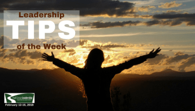 Leadership TIP of the Day