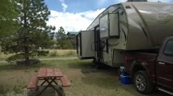 San Luis Valley Campground Site #8