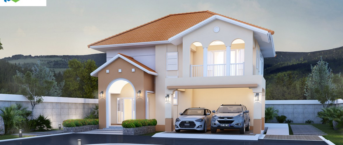 House Design Plans 15×19 with 4 Bedrooms