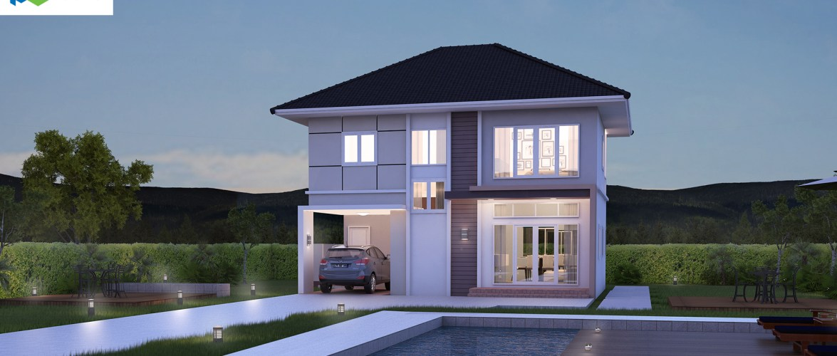 Small House Design Plans 11 x 9.5 with 3 Bedrooms