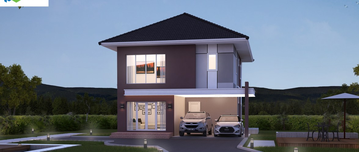 Small House Design Plot 13 x 14 with 4 Bedrooms