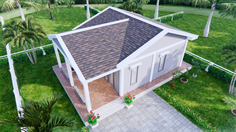 Roof 3d view