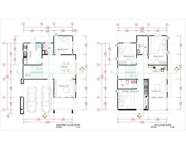Full Plan -01- 8.0 x 10.0m-Model