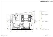 13 Section 2 House design Idea 6x8.5 PDF Full Plans