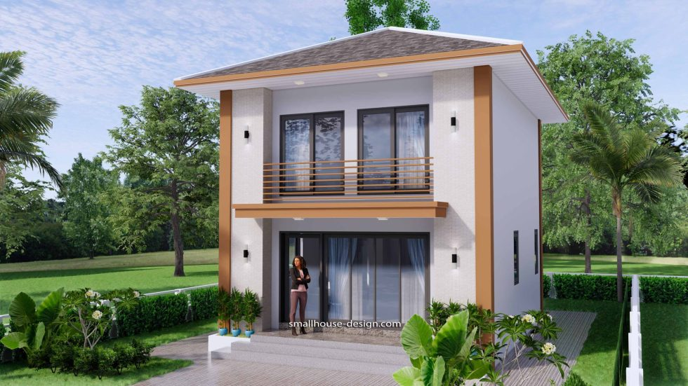 Small House Design 6x7.5 Meter 45 sqm 4