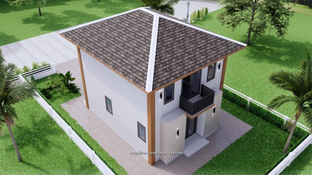 Small House Design 6x7.5 Meter 45 sqm 8