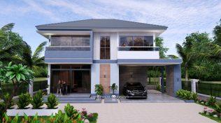 Small House Plan 11.8x7.5 meters 3 Beds 39x25 Feet Full PDF Plan 1