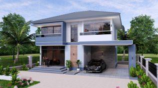 Small House Plan 11.8x7.5 meters 3 Beds 39x25 Feet Full PDF Plan 3
