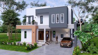 Small House Plan 11x15 M 36x49 Feet 5 Beds Full Plan